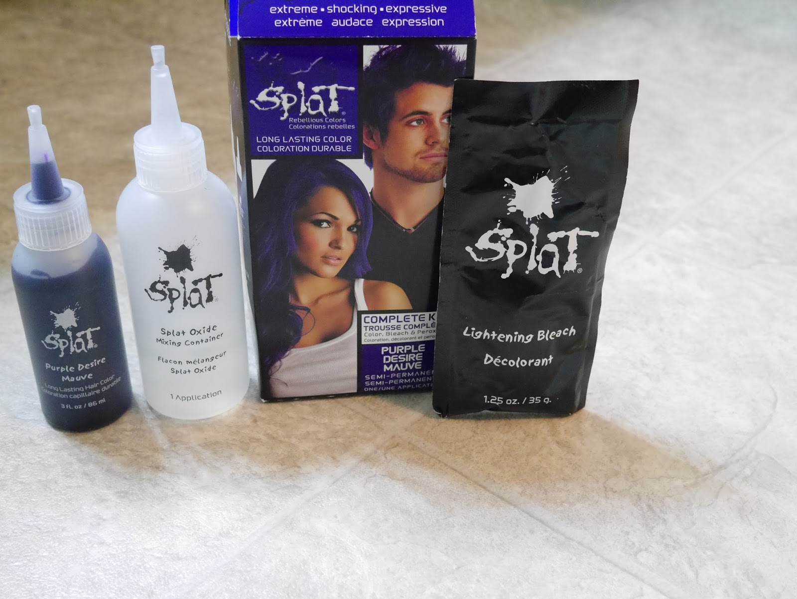 Splat Lightning Bleach Kit Reviews Hairstyle Inspirations 2018