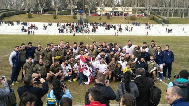 RUGBY - Partido de la Selección de Rugby del Ejército de Tierra y la Armada