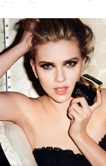 Scarlett Johansson Topless covering her B00bs | Sexy Magazine Shots