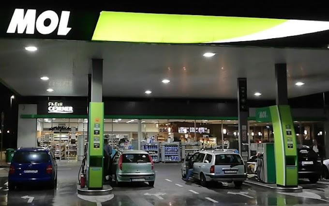 Mol Petrol Horgos (Macaristan Yönü)