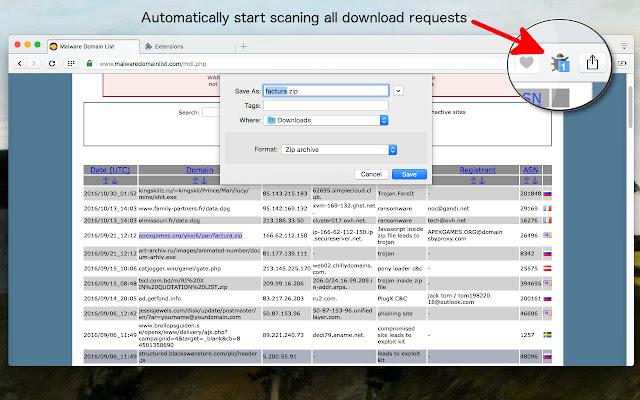 فحص التنزيلات,فحص الملفات,Virus Checker for Downloads,google chrome