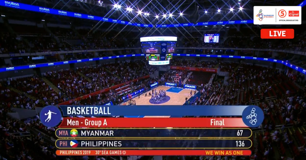 Gilas Pilipinas def. Myanmar, 136-67 (REPLAY VIDEO) SEA Games 2019 | December 7
