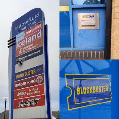 Blockbuster Video in Fallowfield, Manchester. July 2020