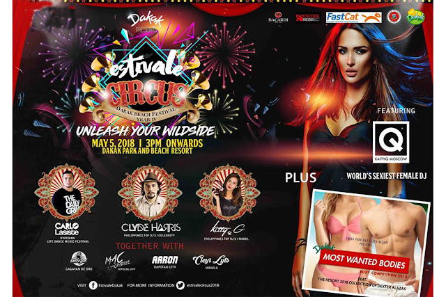 Estivale Circus Official Poster