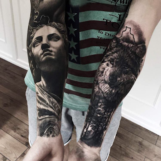 gambar tato keren di lengan
