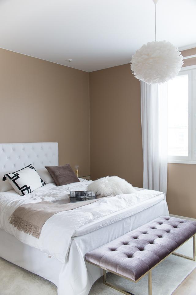 Villa H, makuuhuone, sisustus
