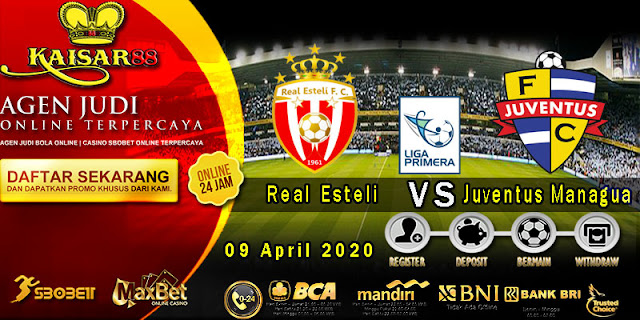 Prediski Bola Terpercaya Liga Nikaragua Real Esteli vs Juventus Managua 09 April 2020