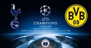Match Tottenham vs Borussia dortmound live streaming TV