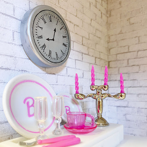 DIY Dollhouse Miniature Clocks In Two Styles