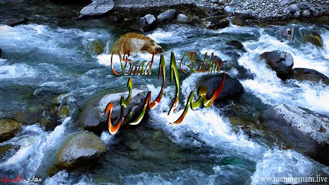 معنى اسم سعد الدين وصفات حامل هذا الاسم Saad Eddin
