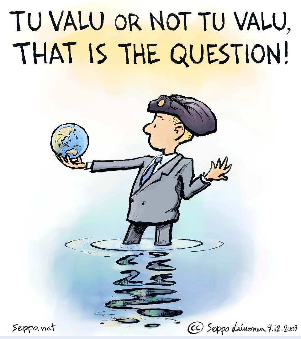 Tuvalu or not tu valu, that is the question! - Seppo Leinonen