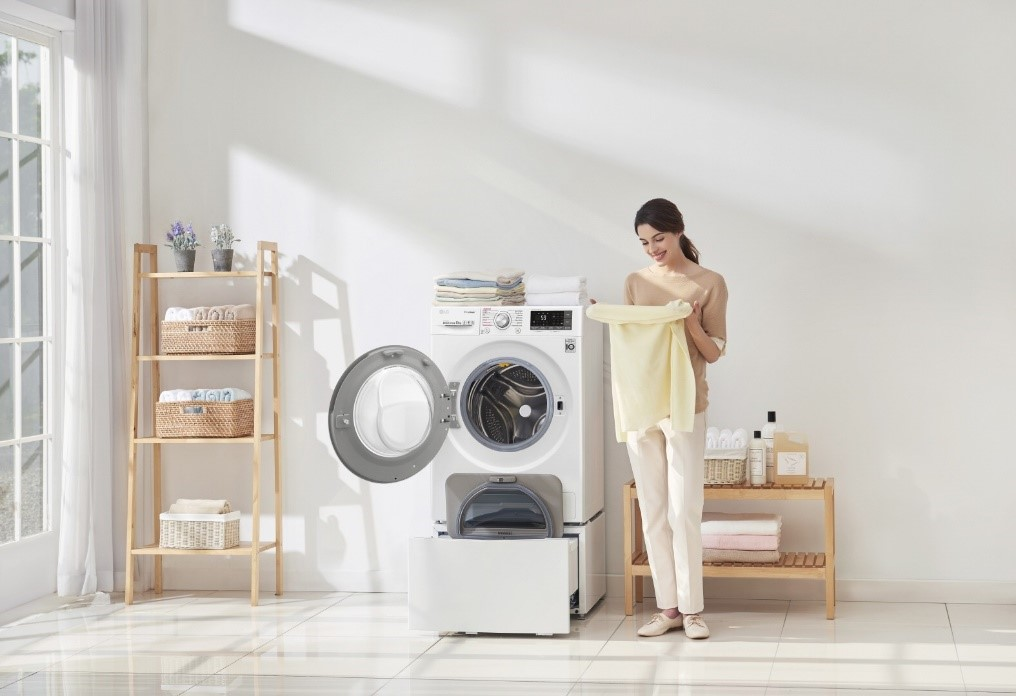 LG Washing Machine Laundry Care - Washes the Germs & Allergies Away