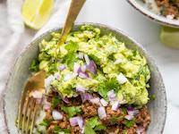 Whole30 Chipotle Beef & Avocado Bowls (Sofritas Copycat, Paleo)