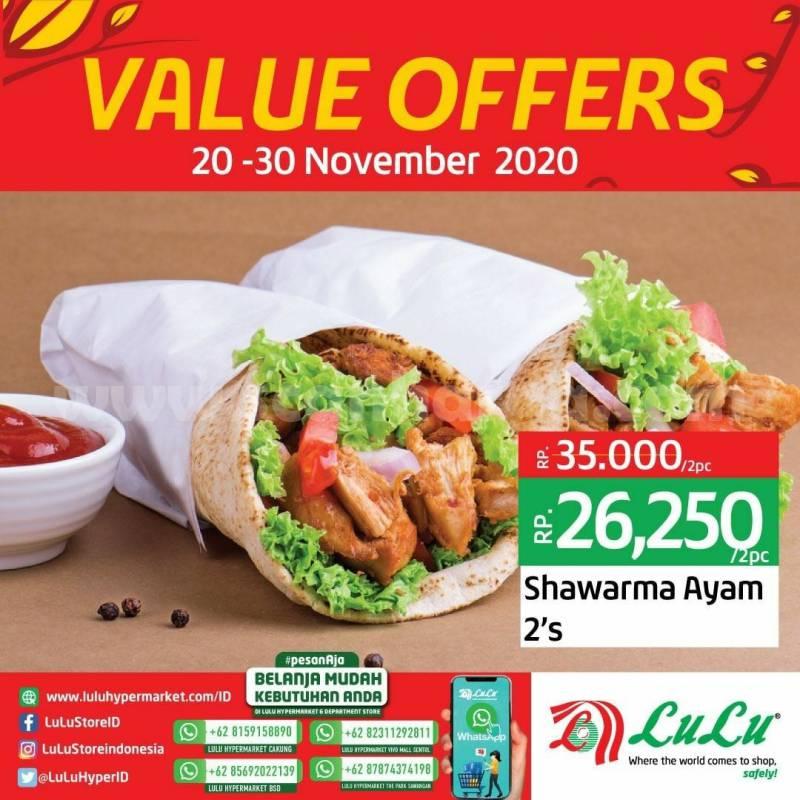LULU Supermarket Promo Value Offers Diskon Jajanan Pasar Kuliner