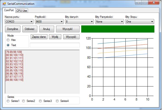 program do rysowania wykresów z danych