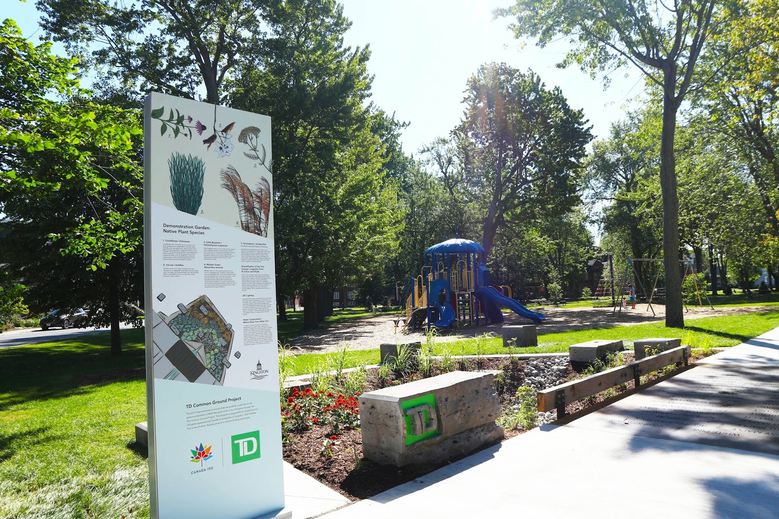 Grand Reopening of Victoria Park