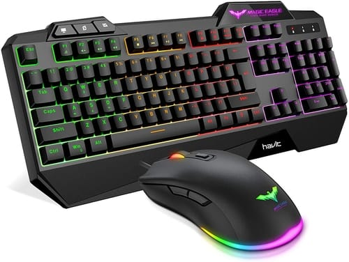 Review Havit Wired Gaming Keyboard Mouse Combo LED