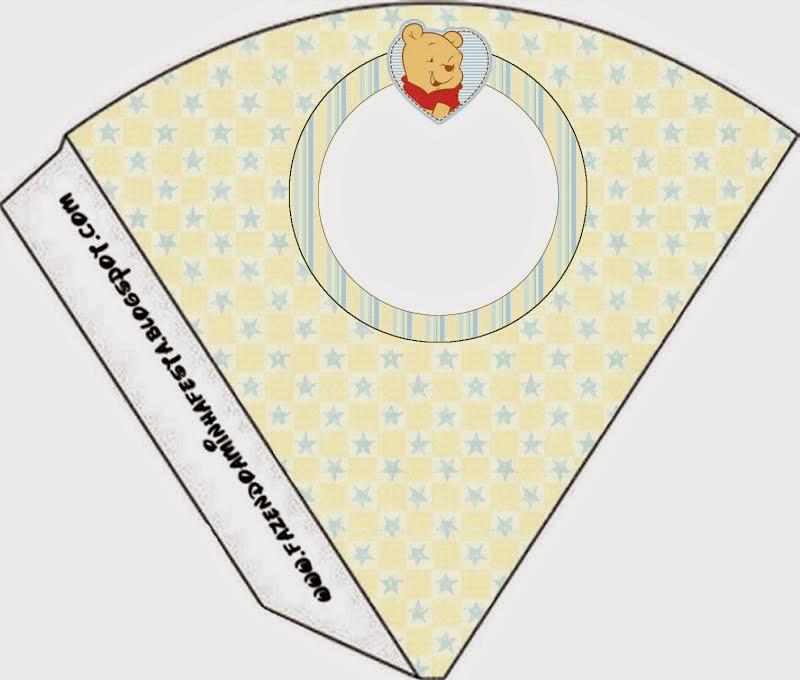Winnie the Pooh Bebé: Imprimibles Gratis para Fiestas.