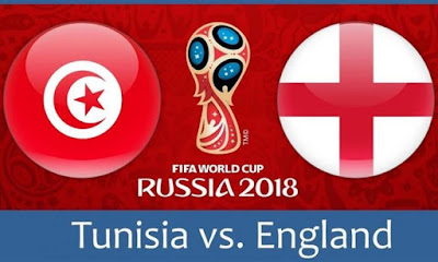 Live Streaming Tunisia vs England Piala Dunia 19.6.2018