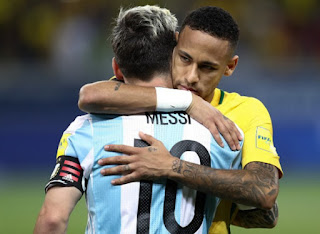 Neymar: There should be a Ballon d'Or JUST for Messi, he's the best I've seen
