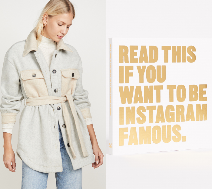 book on how to become instagram famous from shopbop