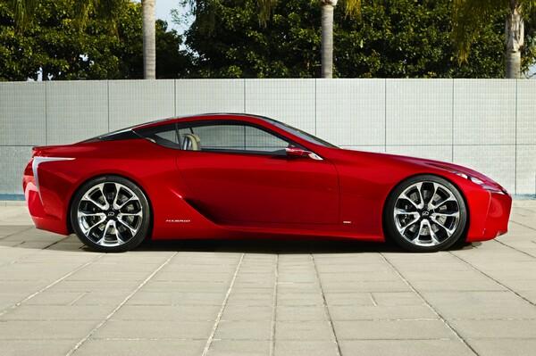 Lexus LF-LC Concept Car
