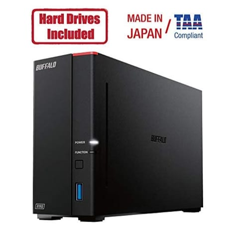 BUFFALO LinkStation 710 4TB 1-Bay Cloud Data Storage