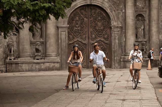 Bamboo Bike Tour in Intramuros