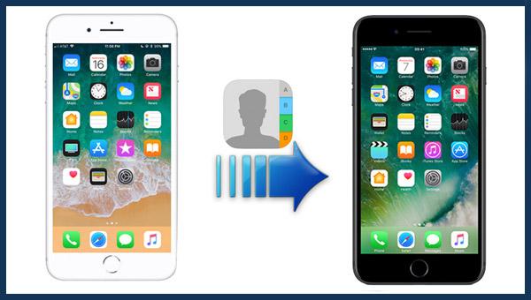 كيفية نقل جهات الاتصال من هاتف iPhone إلى هاتف أيفون أخر