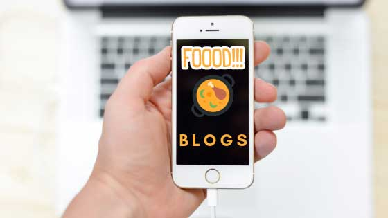 types of blogs, food blogs