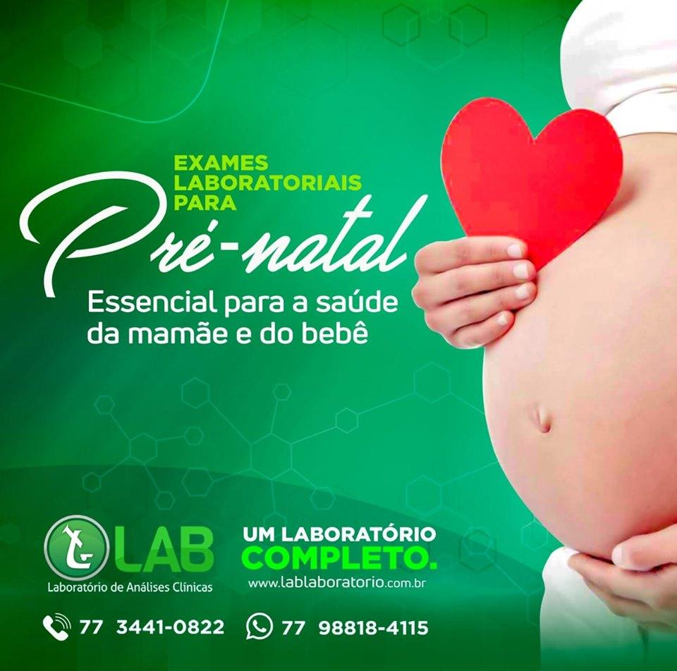Faça os exames de pré-natal e demonstre todo seu amor para o seu bebê.