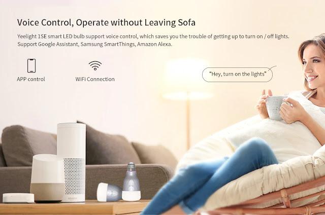 Xiaomi Yeelight 1SE - Um lampada inteligente que fica bem em qualquer casa