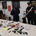 Putignano (Ba). Controlli nel quartiere San Pietro Piturno. Arrestati 3 pusher trovati con tre pistole clandestine ed oltre un chilo di droga pronta per lo smercio