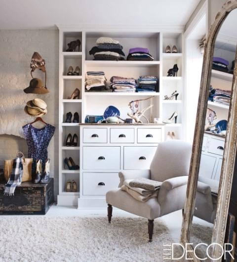Keri Russell luxury fantasy closet