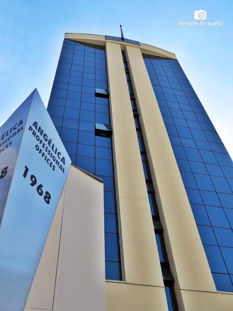 Foto composição com o Edifício Angélica Professional Offices - Consolação - São Paulo
