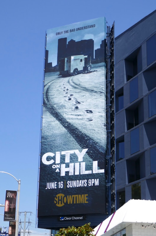 City on a Hill series billboard