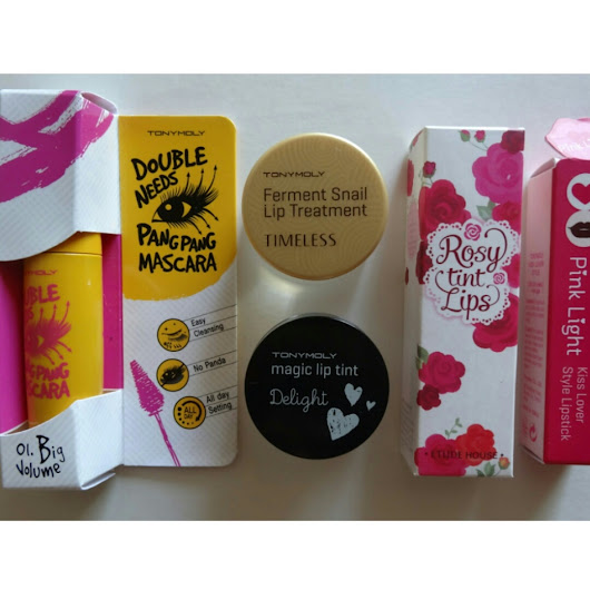 Haul: Korean Beauty Products