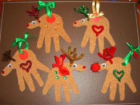 Brenda Lopez Manualidades Para Navidad - Manualidades-sencillas-navidad