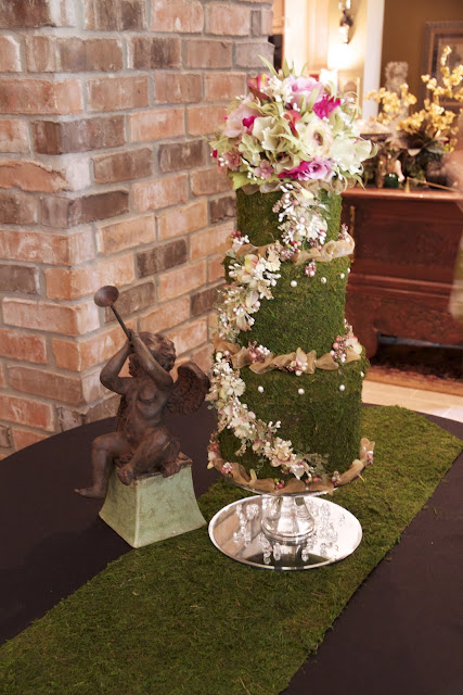 Janets Designs Bridal Shower  Garden Themed