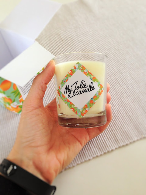idée cadeau - bougie my jolie candle pour noël