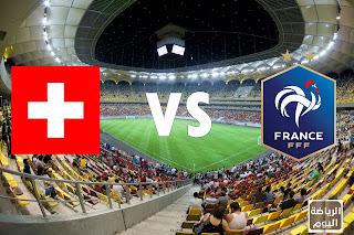 نتيجة المباراة بين منتخب فرنسا و منتخب سويسرا ( يورو 2020 ) 28/6/2021