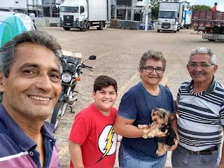 Marcos de Enoque visita preparativos finais para a festa da luz 2019 no parque do poeta em Guarabira