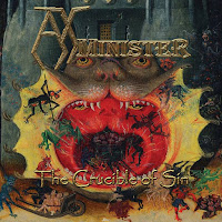 "Το ep των AxMinister ""The Crucible of Sin"""