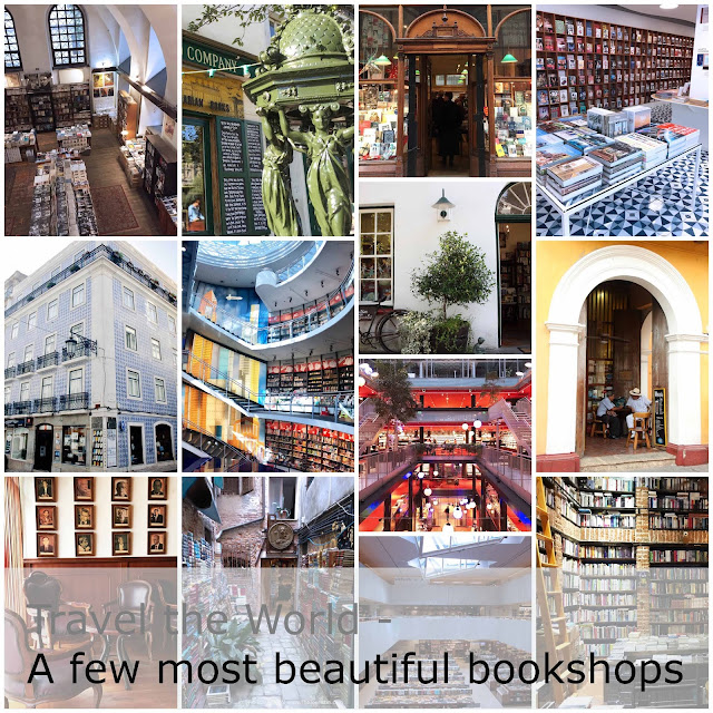 Travel the World. A few most beautiful bookshops