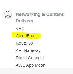 cloud front in aws solution architect