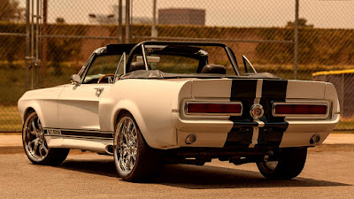 1968 Ford Mustang Convertible Modified 624 HP Coyote Aluminator Whipple Supercharger Rear Left