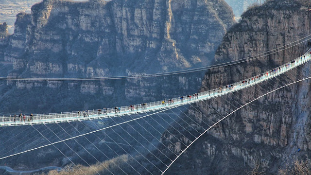 Jembatan Hongyagu menjadi Jembatan Terseram diDunia