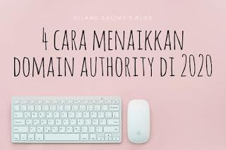 Cara Menaikkan Domain Authority Cepat ini jangan ditiru jika kamu mudah menyerah