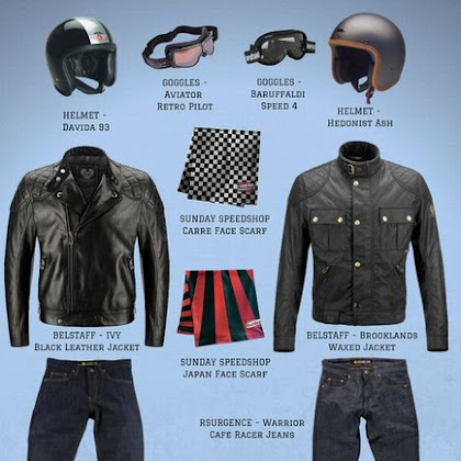 Motorcycle Outfit Men Cafe Racers
