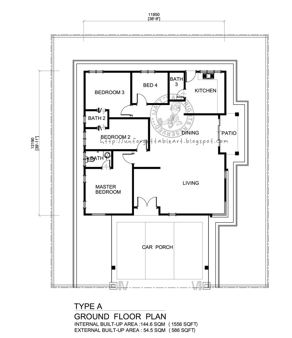 Pelan Lantai Ruang Tamu Desainrumahid